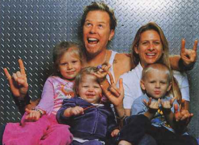 hetfield-family
